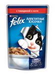 Консервированный корм для кошек Кусочки в желе с говядиной