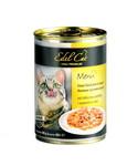 Консервированный корм для кошек Edel Cat Нежные кусочки в СОУСЕ с курицей и уткой