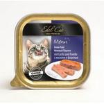 Консервированный корм для кошек Edel Cat Паштет с лососем и форелью